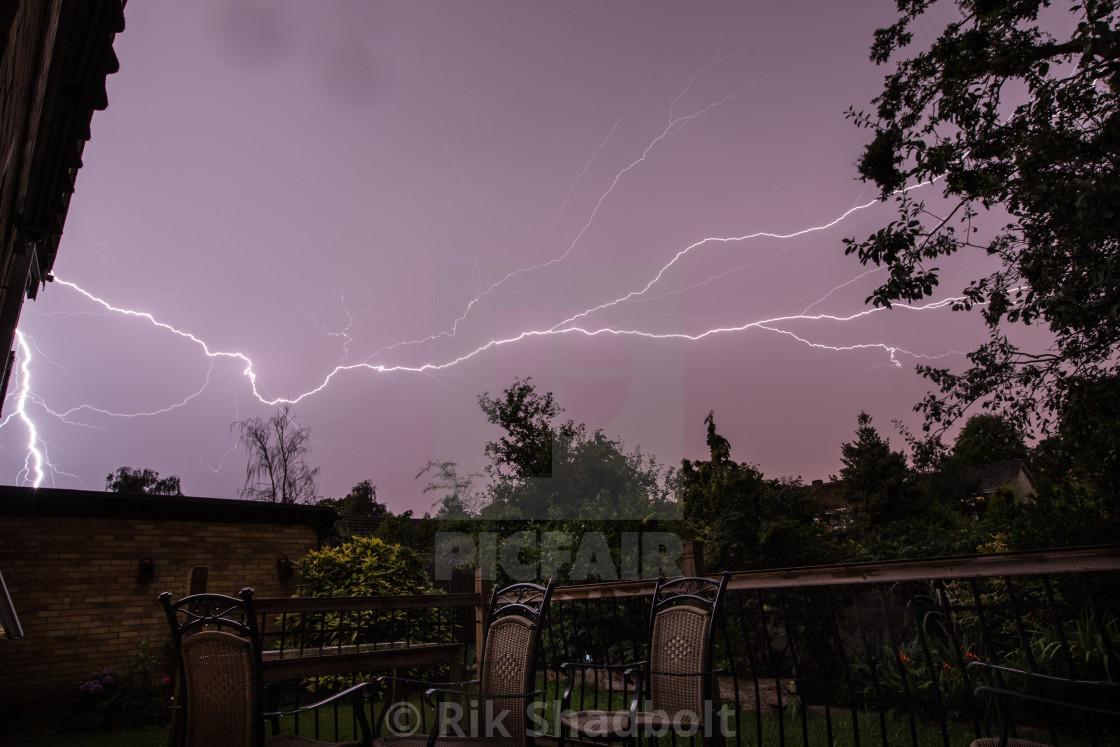 """Lightning Deck"" stock image"