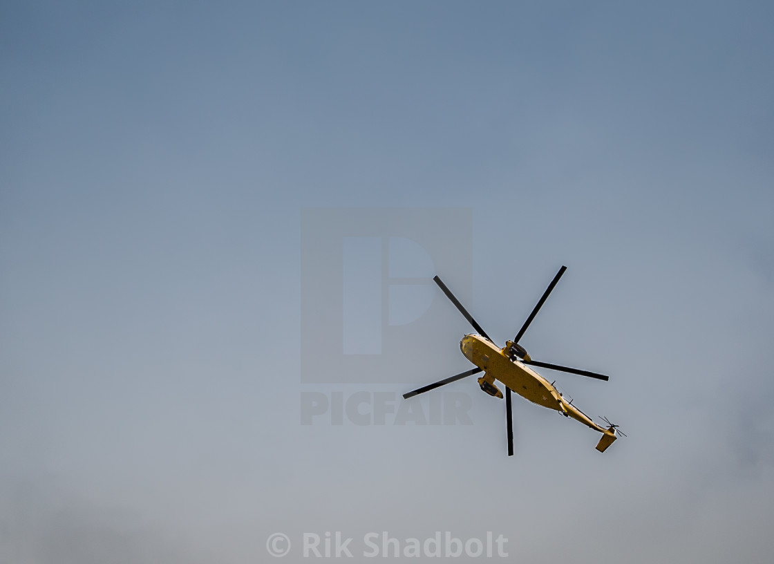 """Sea king helicopter"" stock image"