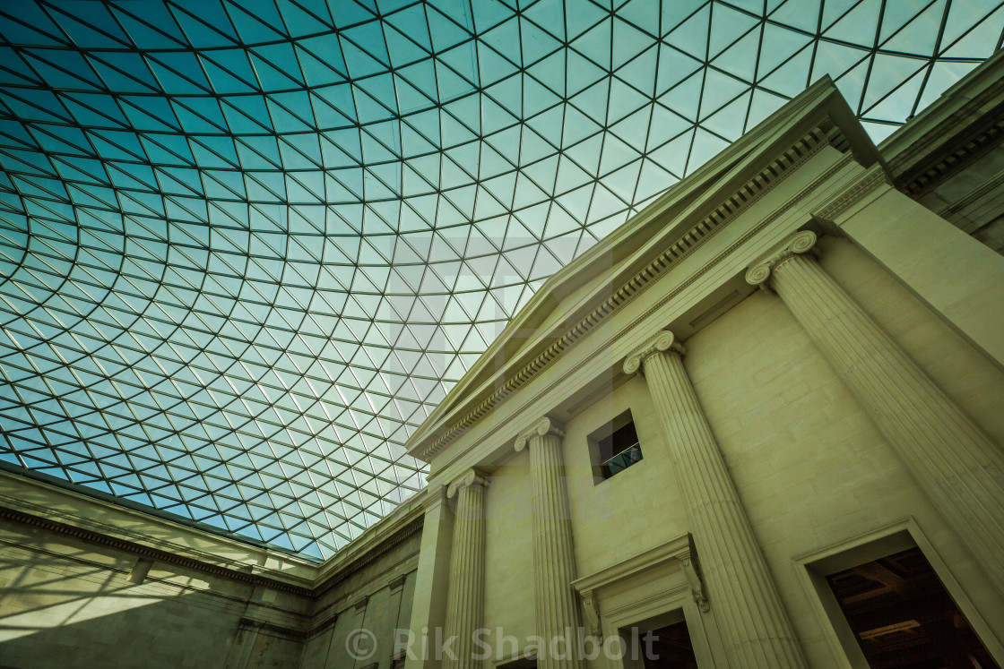 """Museum Roof"" stock image"