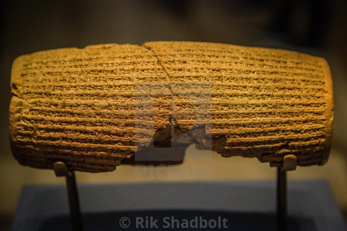 """Ancient Scripture"" stock image"