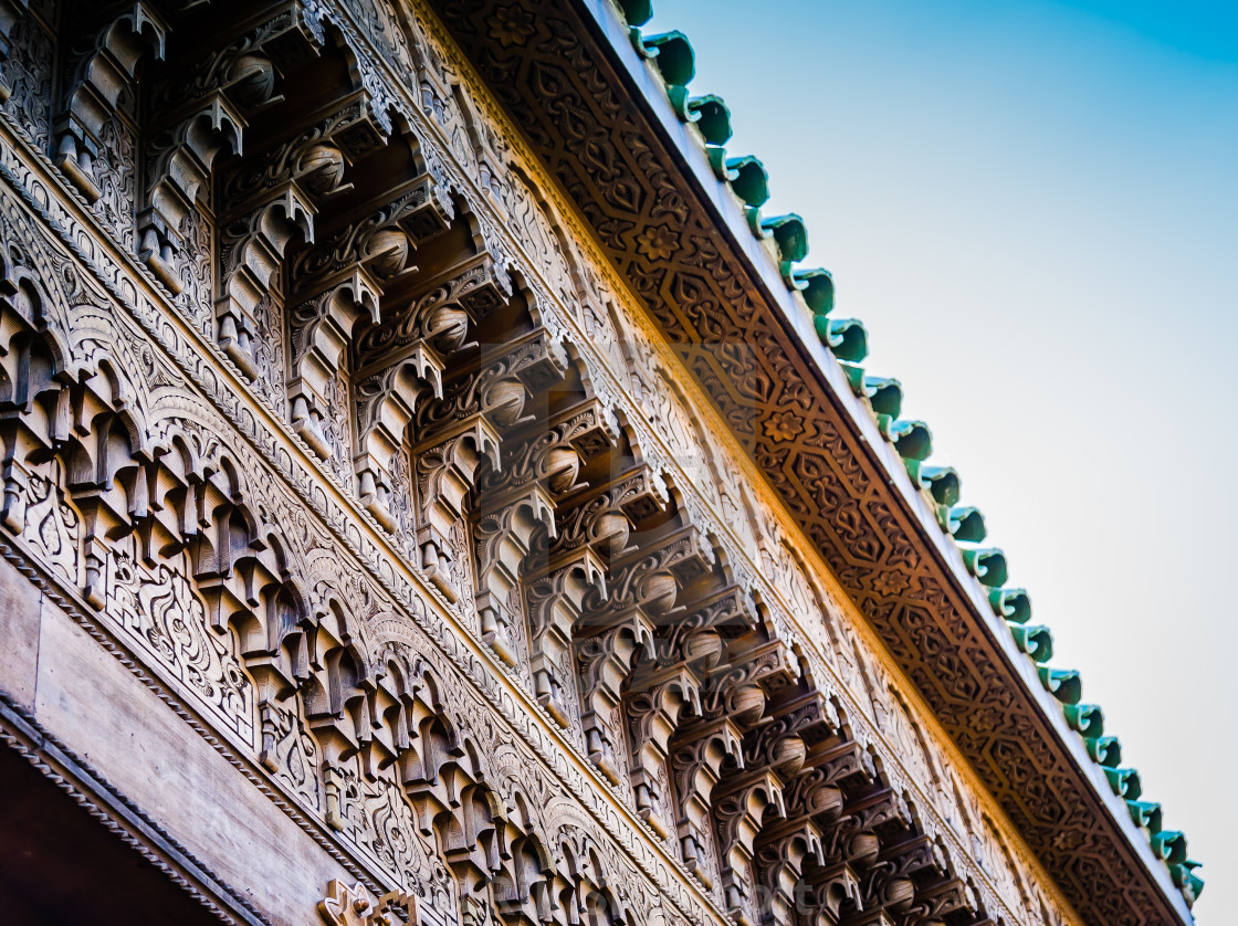 """Ornate Frieze"" stock image"