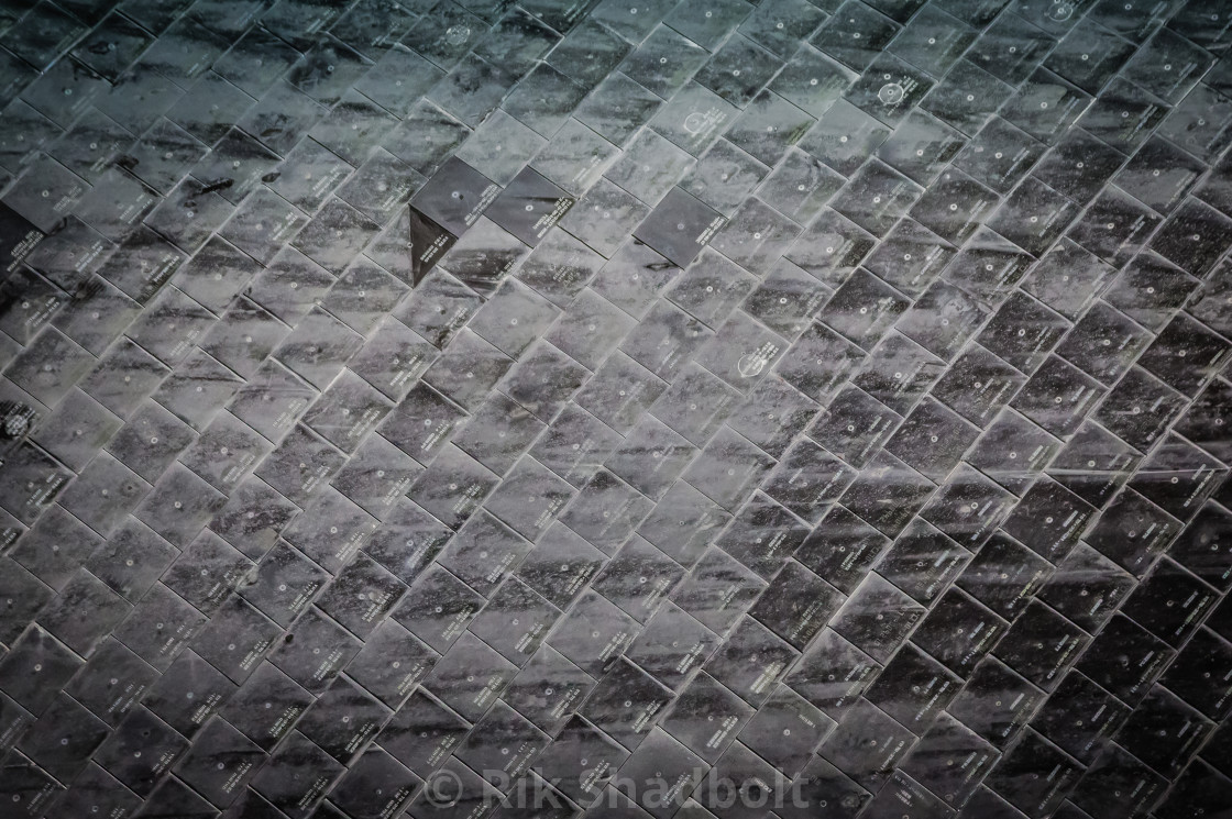 """Space Shuttle Tiles"" stock image"