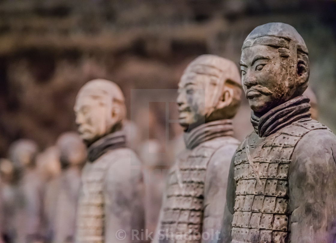 """Terracotta Warrior"" stock image"