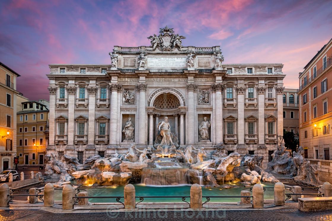 """Fontana di trevi"" stock image"
