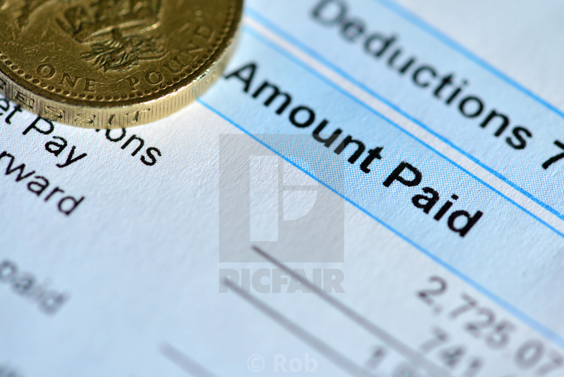 """Pay Day"" stock image"