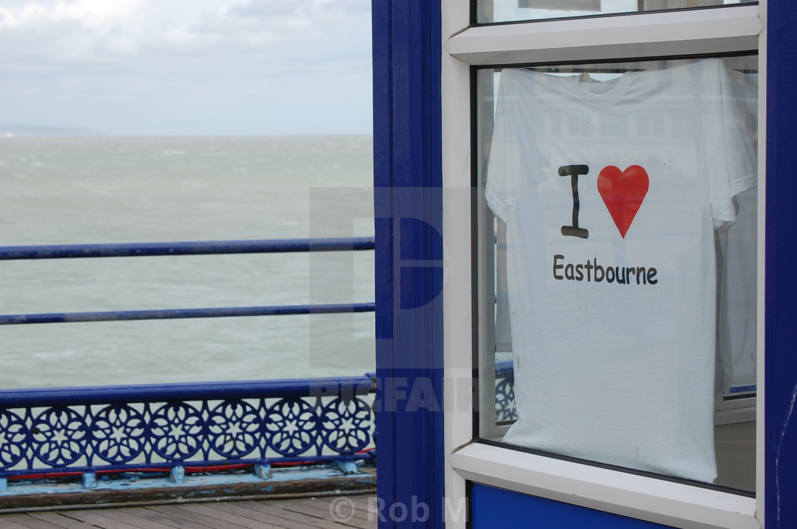 """I Heart Eastbourne"" stock image"