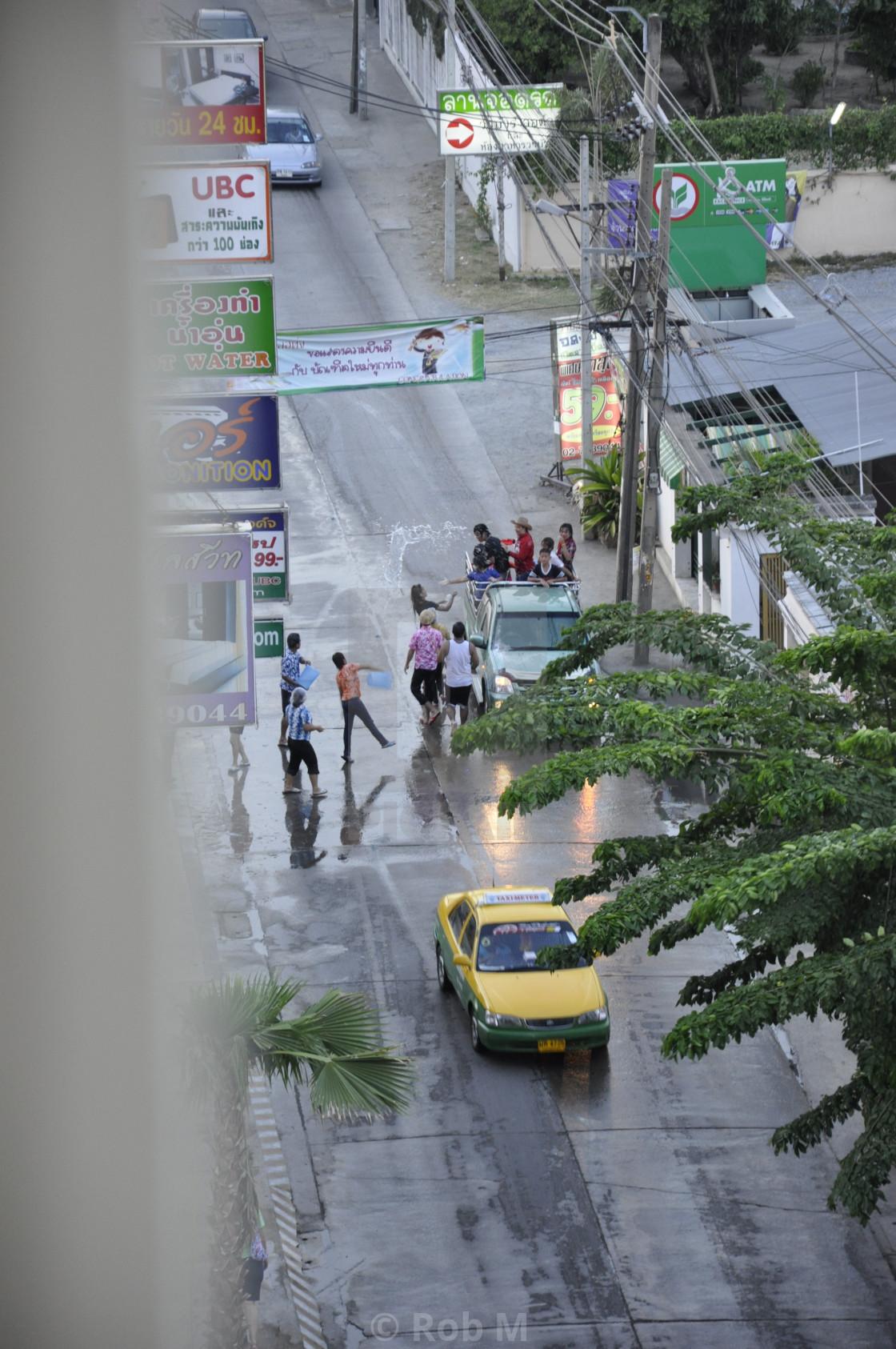 """Happy Songkram"" stock image"