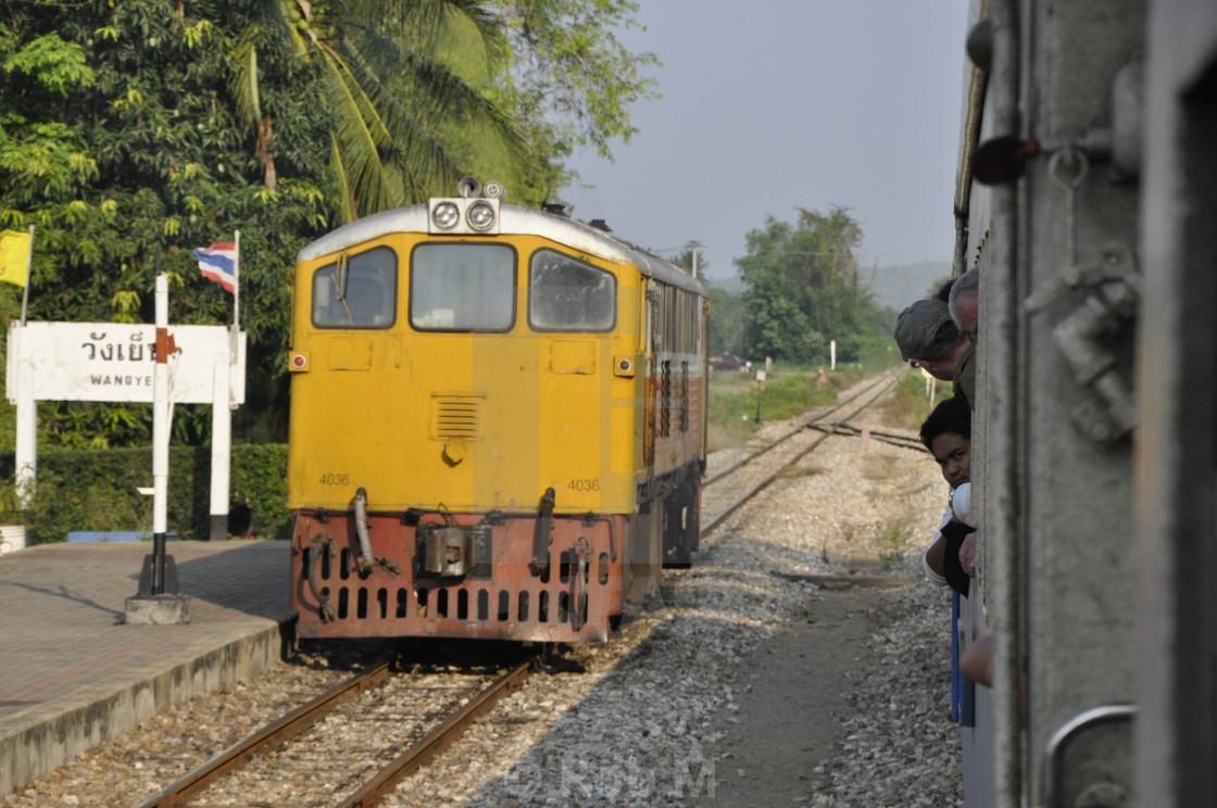 """Train Stop"" stock image"