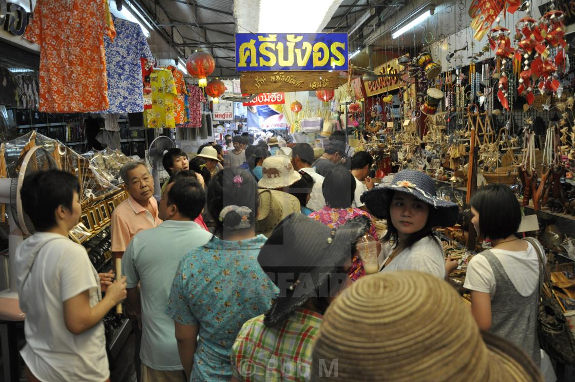 """Thai Market"" stock image"