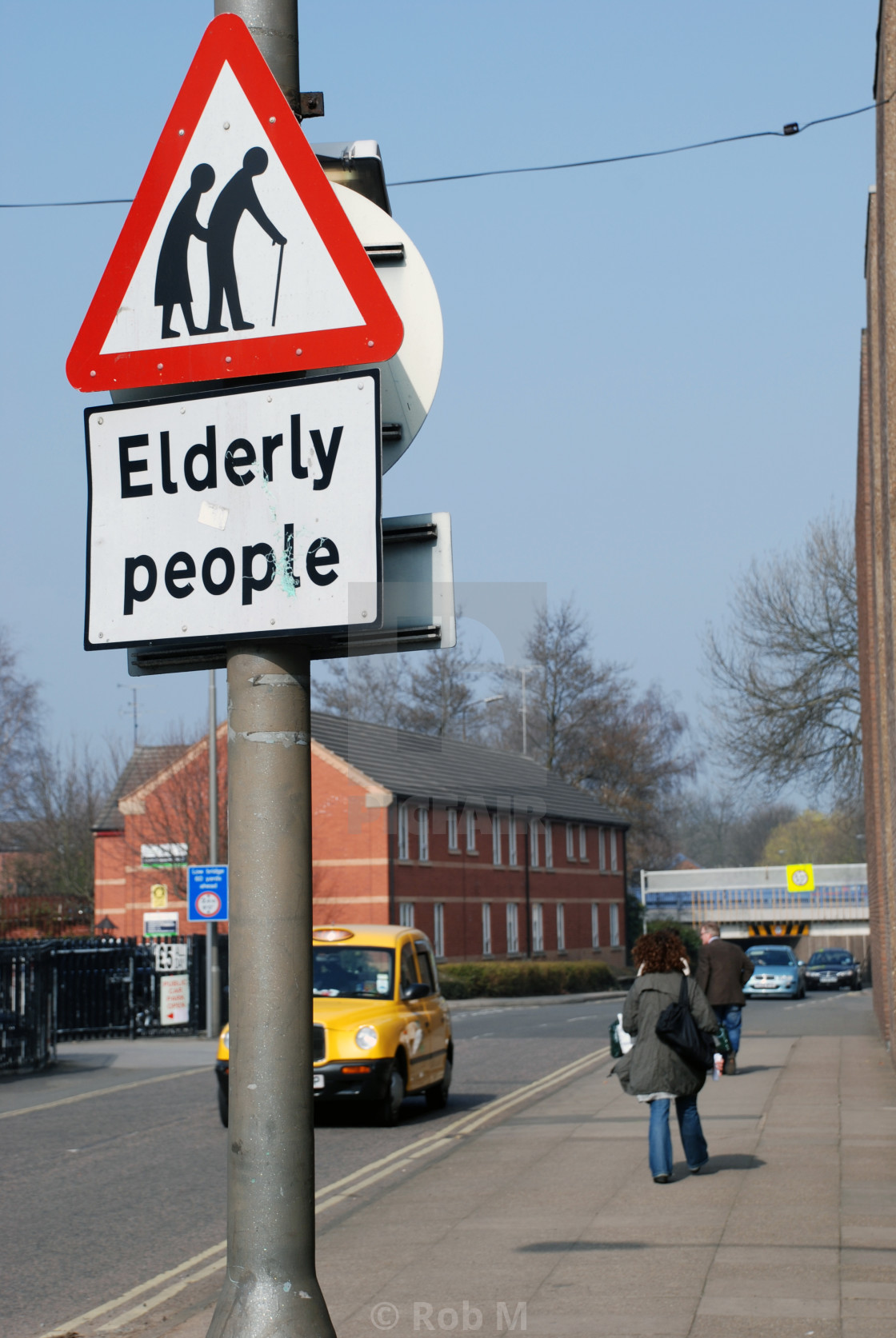 """""""Help the Aged"""" stock image"""