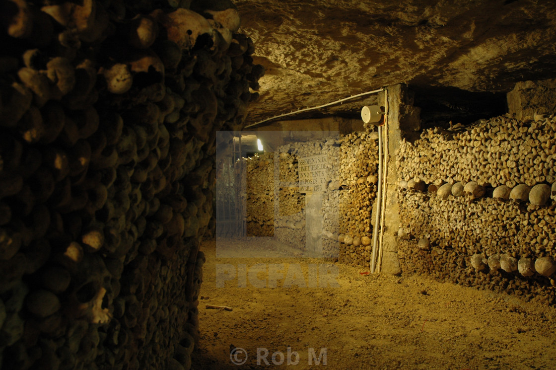 """Catacomb"" stock image"
