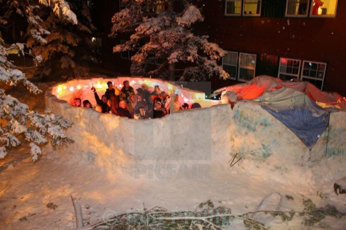 """Igloo Bar"" stock image"