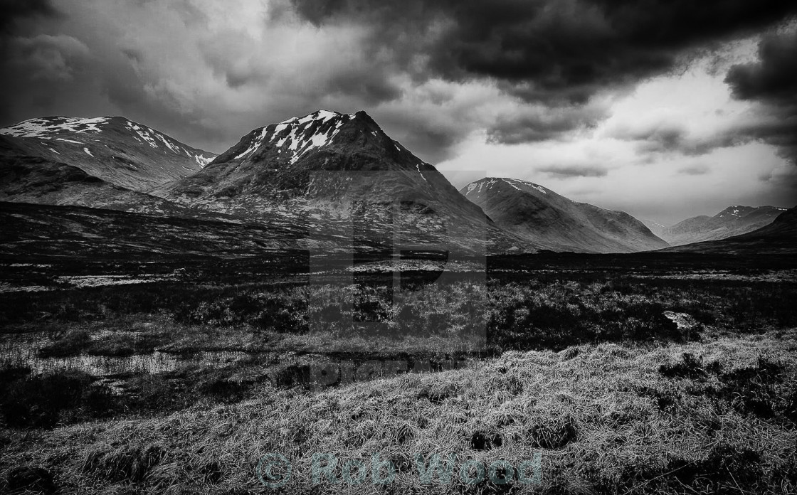 """Scottish Highlands"" stock image"