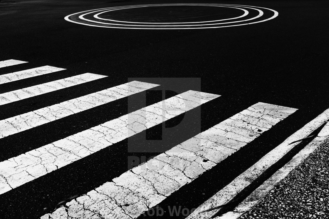 """Road Markings"" stock image"