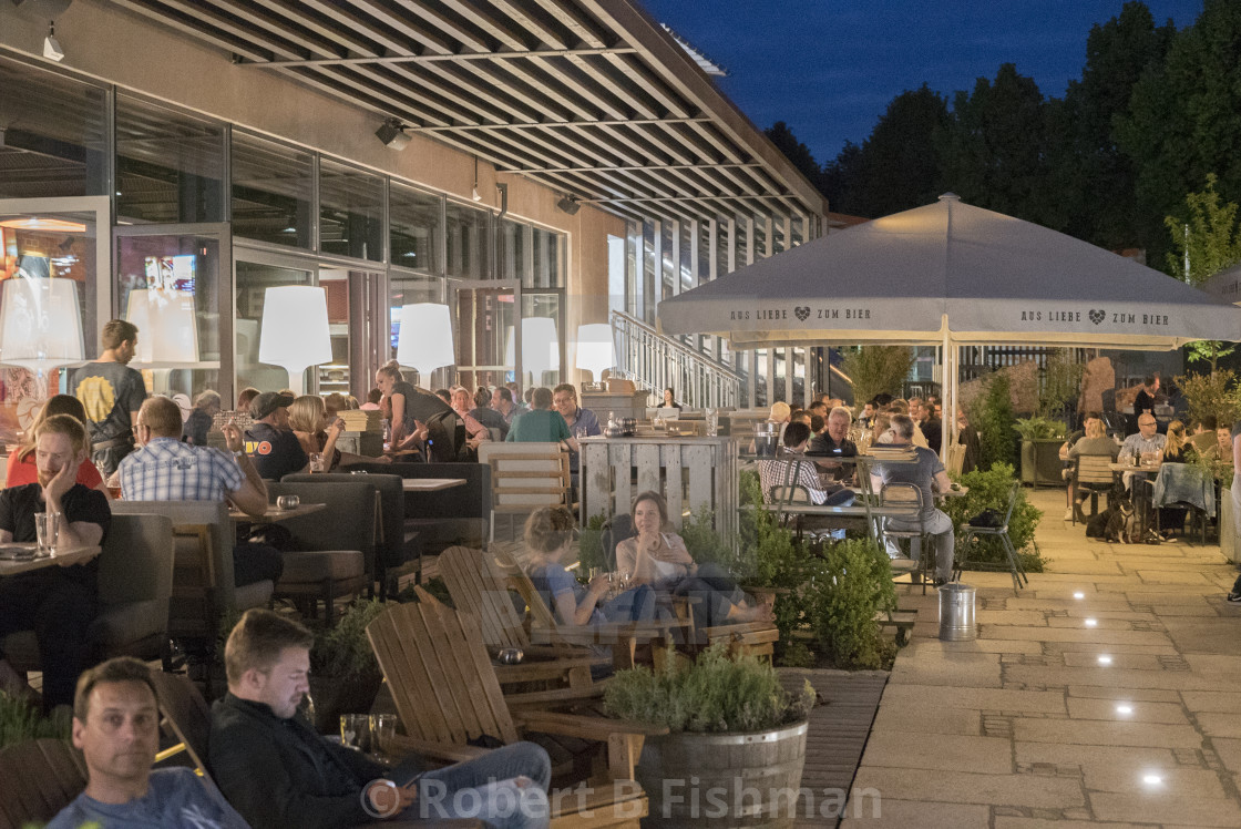 Liebesbier Beer Garden - License for £18.60 on Picfair