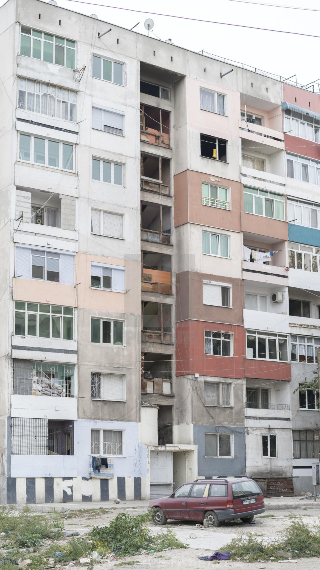 """""""Roma area Stolipinovo"""" stock image"""