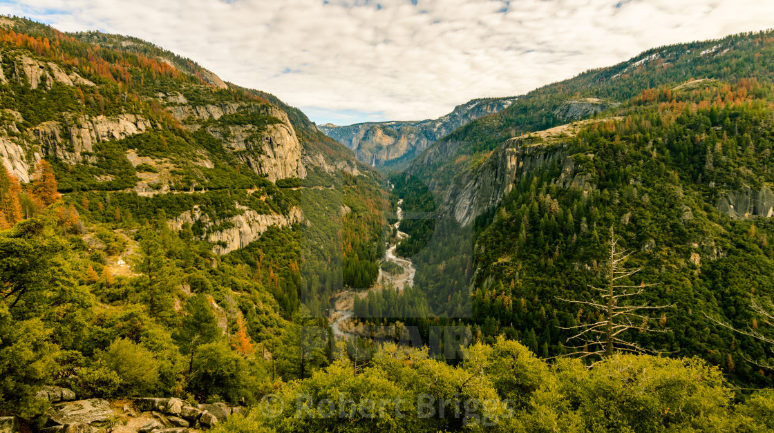 """Yosemite Valley In Autumn"" stock image"