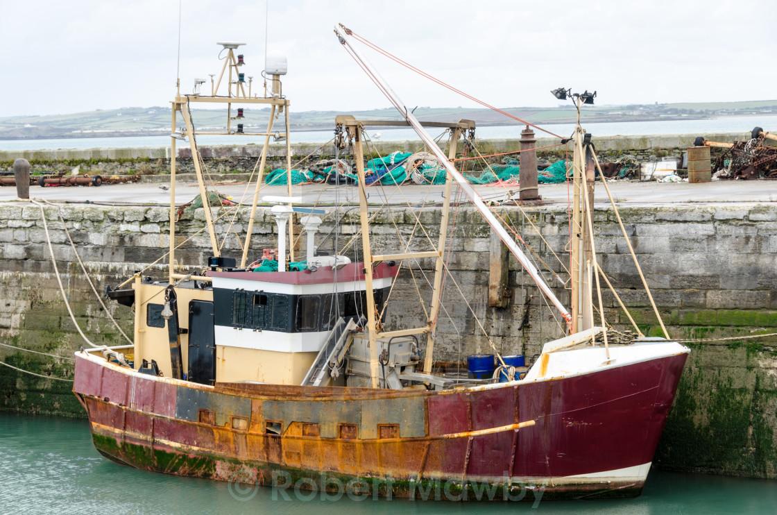"""""""Rusty Old Trawler"""" stock image"""