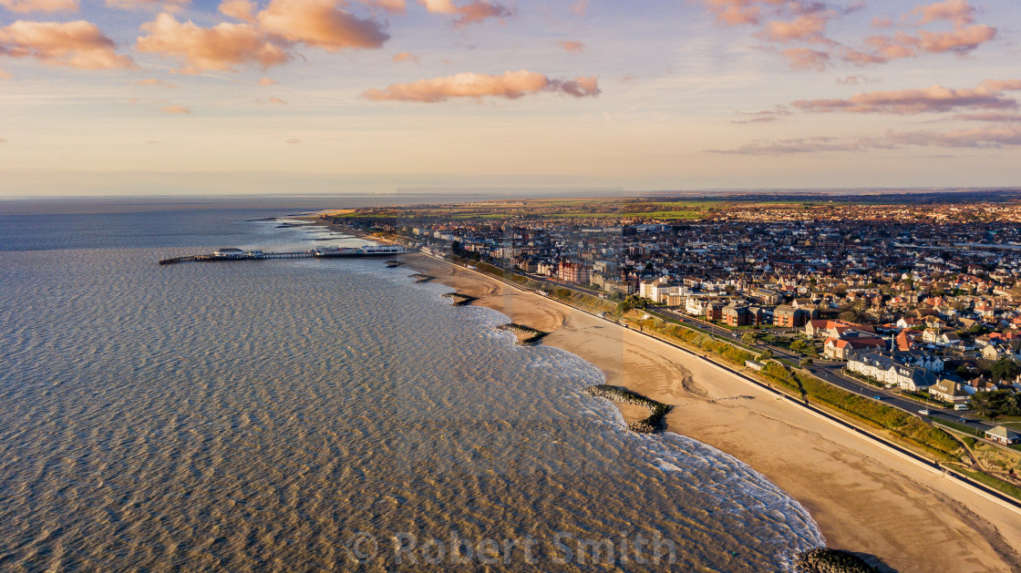 """Clacton on sea"" stock image"