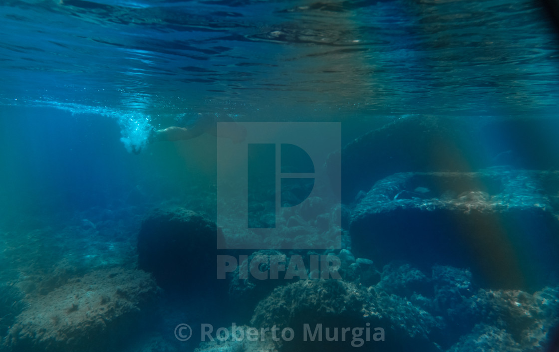 """under water"" stock image"