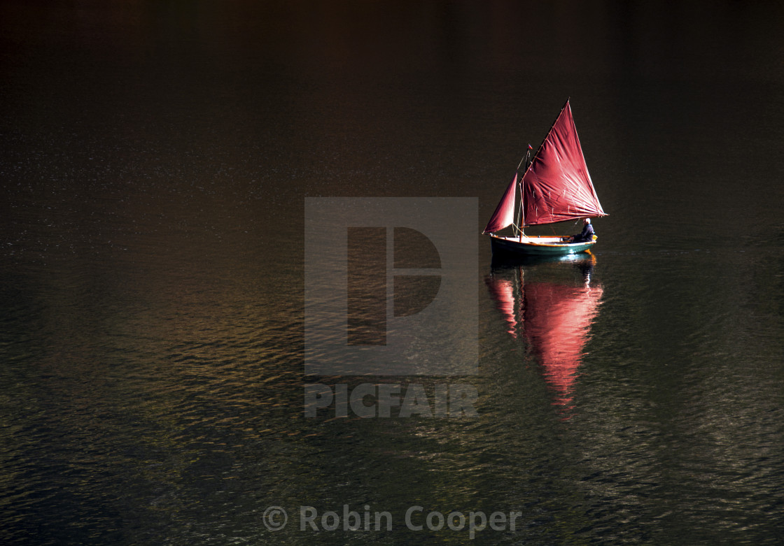 """Becalmed"" stock image"