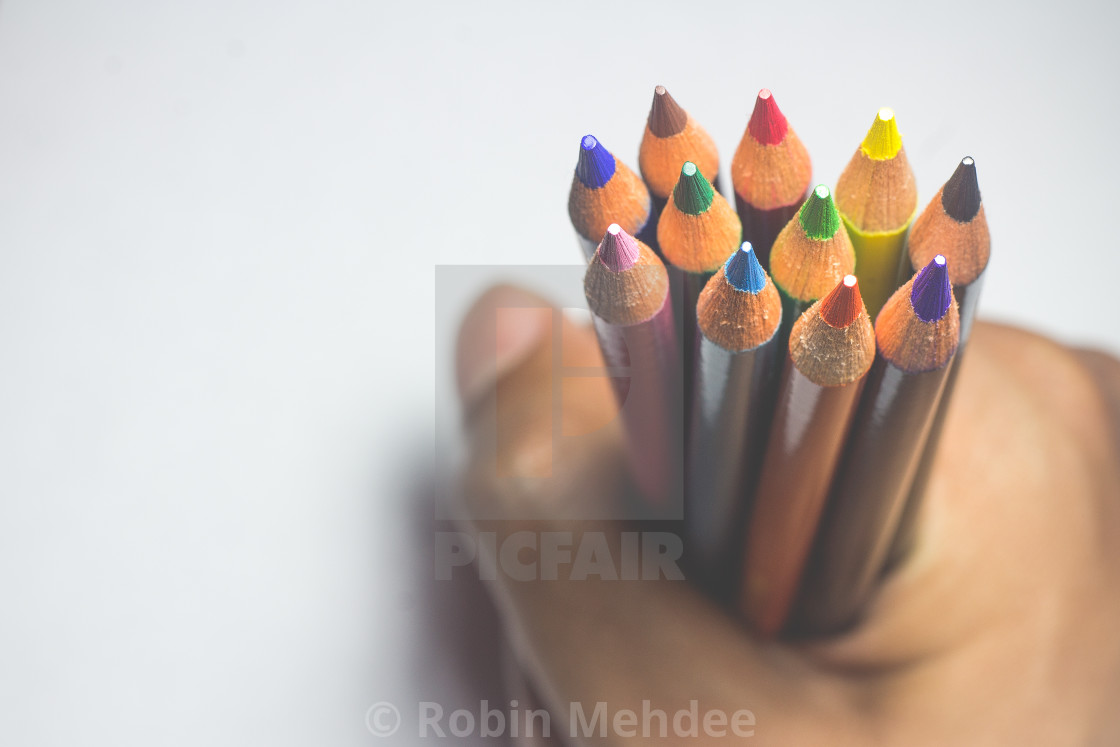 """Color Your Life"" stock image"