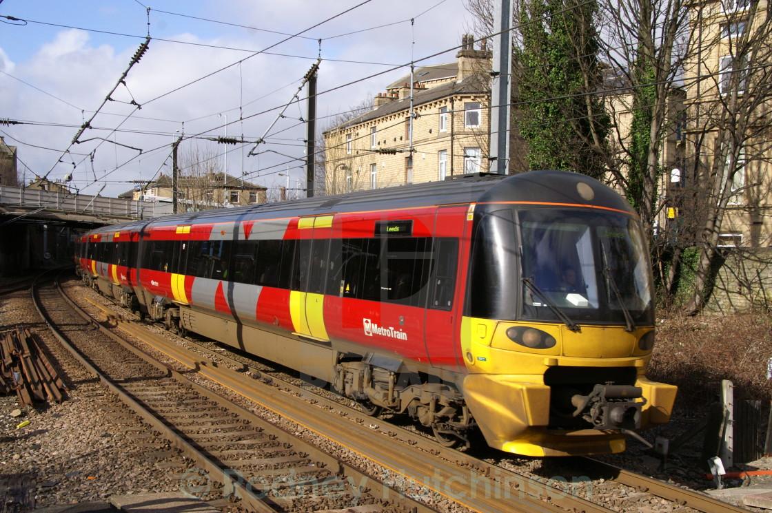 """Northern Rail Class 333"" stock image"