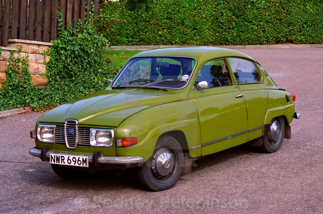 """SAAB 96 saloon car"" stock image"