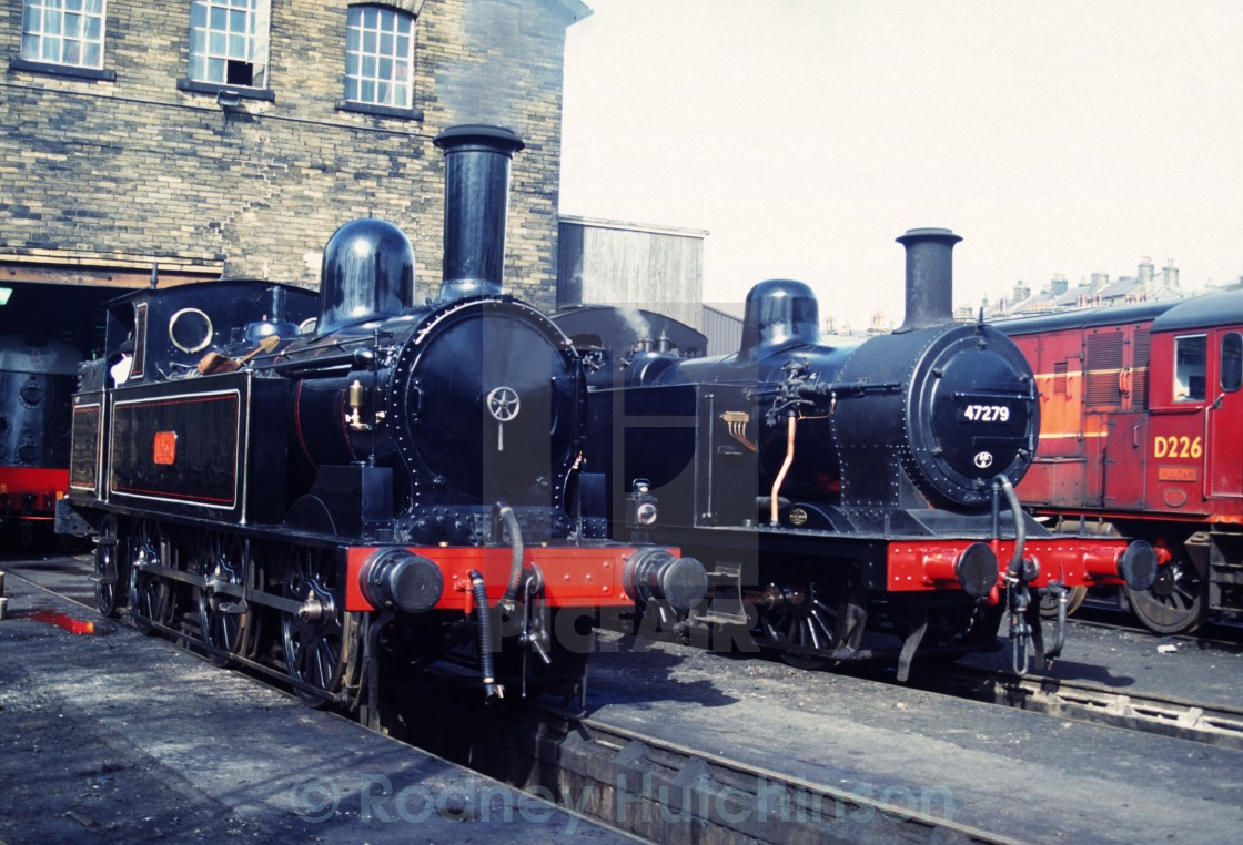 """Engines Haworth Yard"" stock image"