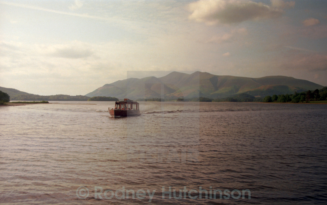 """Water Bus, Derwent Water"" stock image"