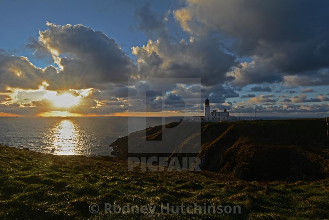 """Killantringan Lighthouse Dumfries and Galloway"" stock image"