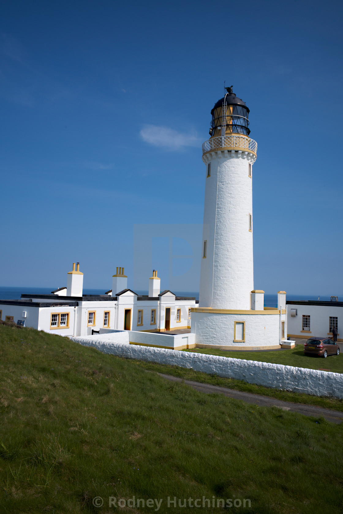 """""""Mull of Galloway Lighthouse Dumfries and Galloway Scotland"""" stock image"""