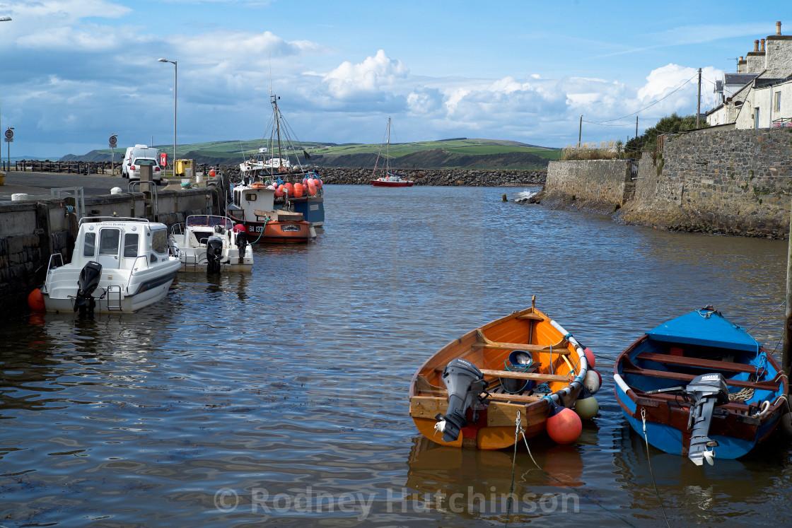 """""""Port William Harbour"""" stock image"""