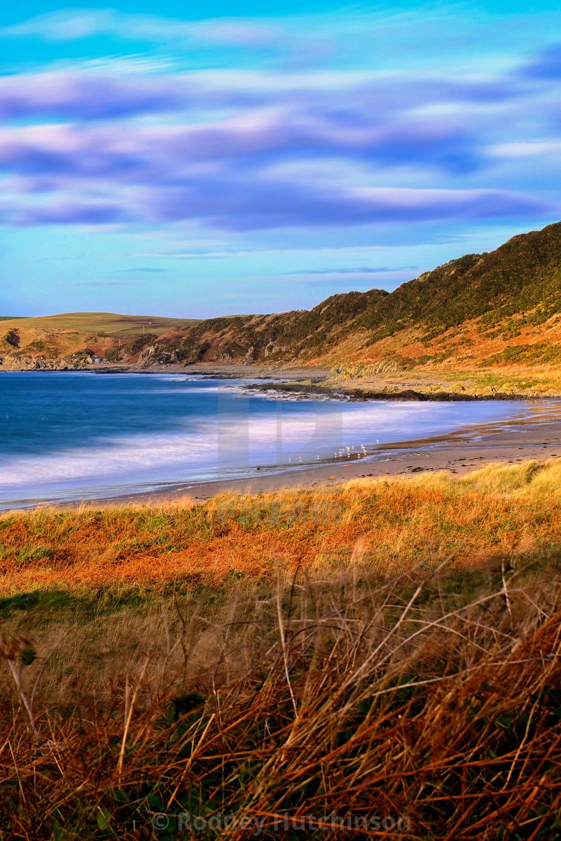 """Ardwell Beach"" stock image"