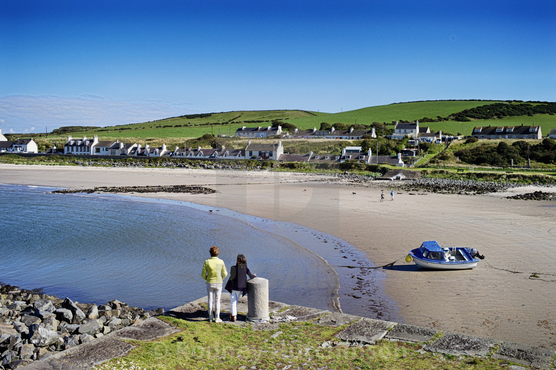 """Port Logan Dumfries and Galloway"" stock image"