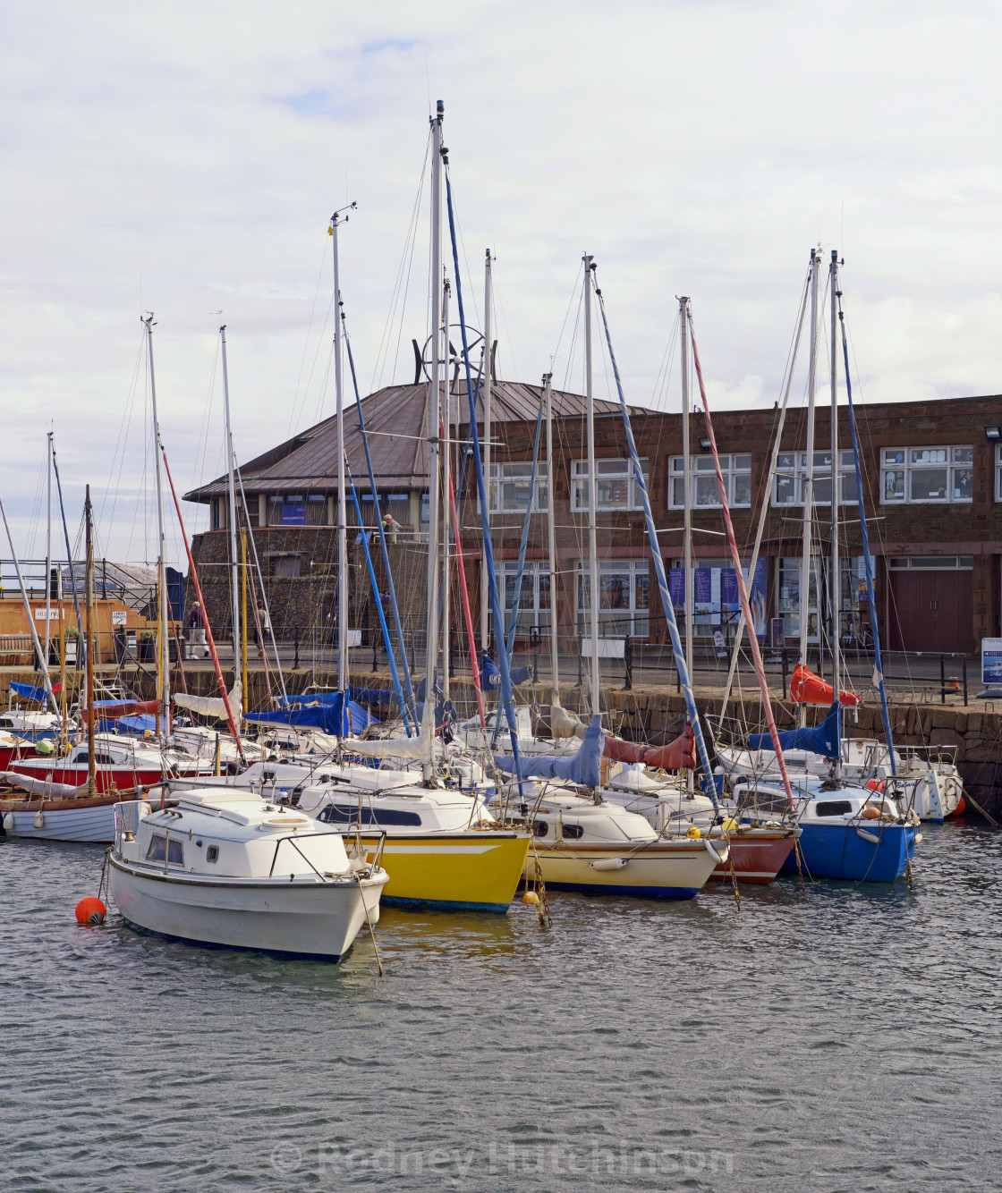 """North Berwick Harbour East Lothian, Scotland."" stock image"