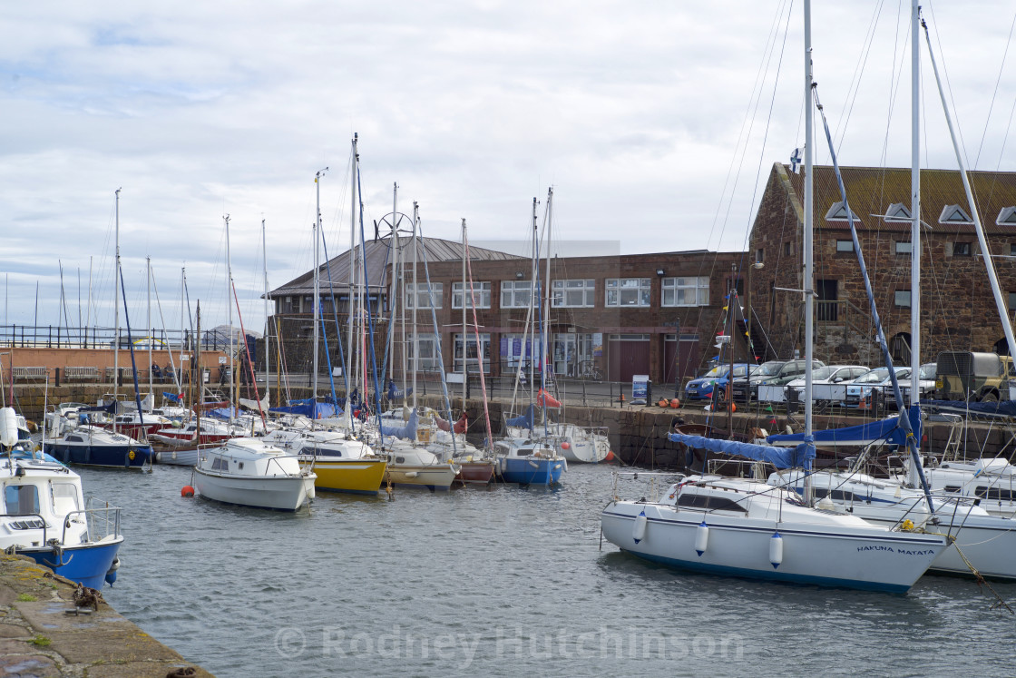 """North Berwick Harbour Scotland."" stock image"