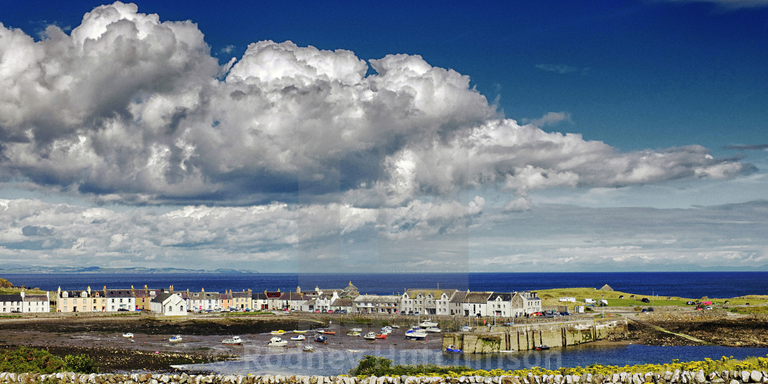 """Isle of Whithorn, Dumfries and Galloway"" stock image"