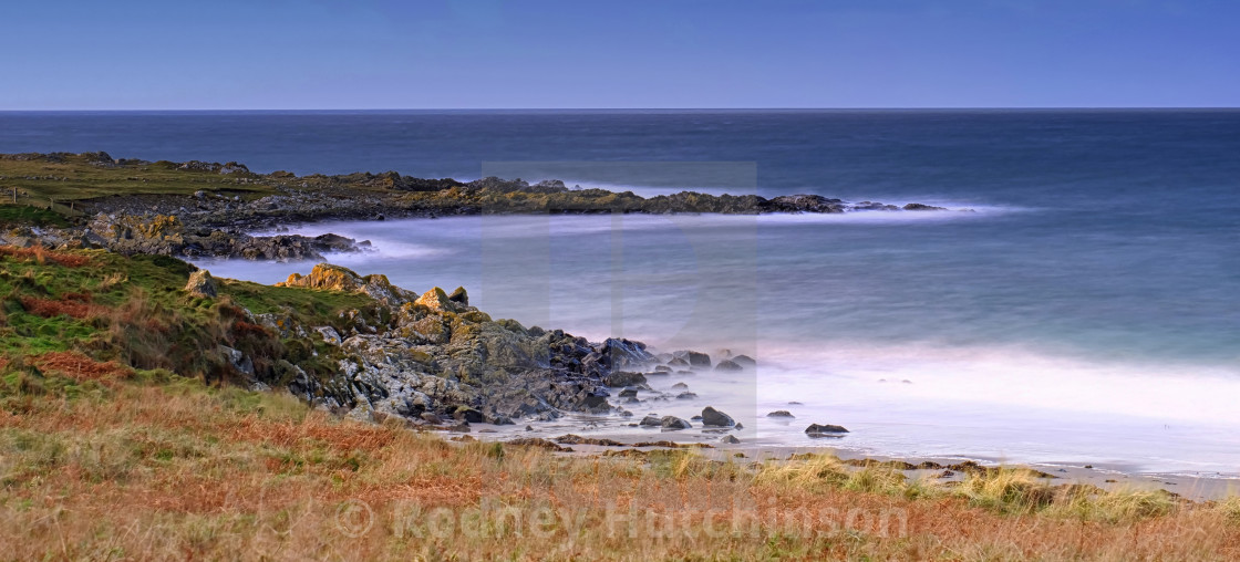 """Ardwell Beach Dumfries and Galloway"" stock image"
