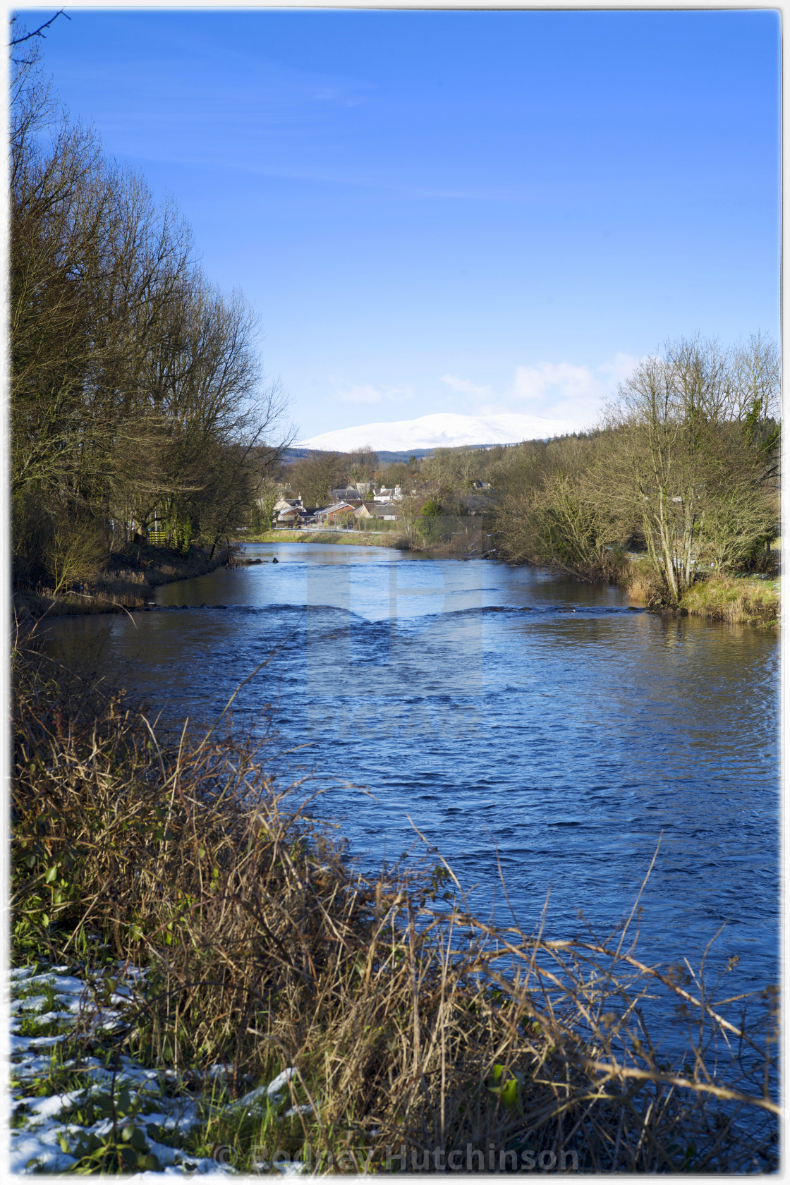 """River Cree at Newton Stewart,"" stock image"