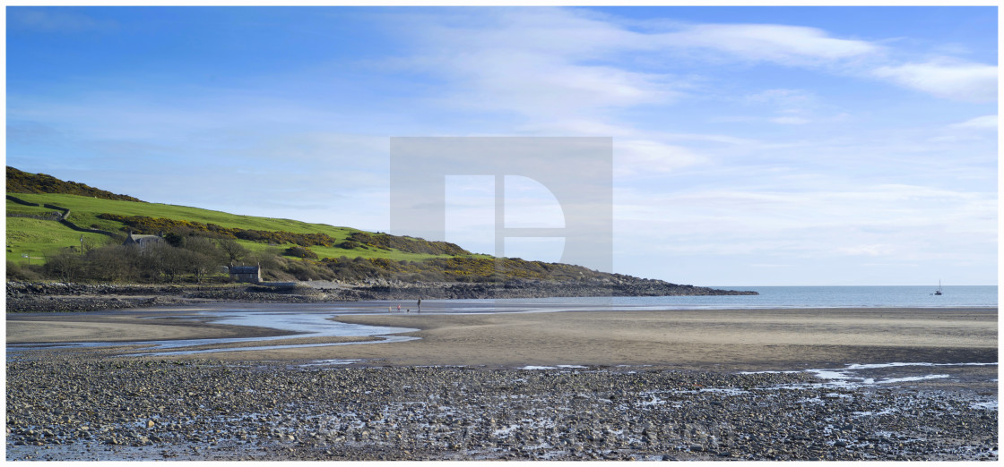 """Brighouse Bay Dumfries and Galloway"" stock image"