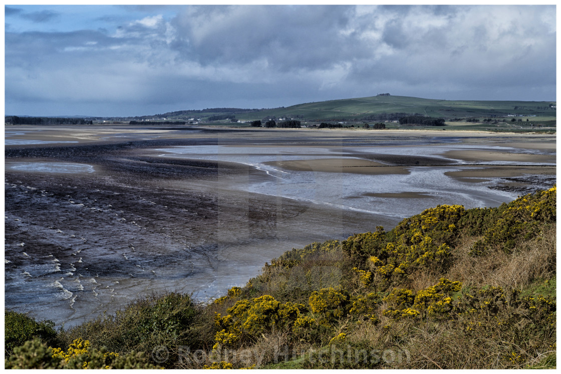 """Luce Bay Dumfries and Galloway"" stock image"