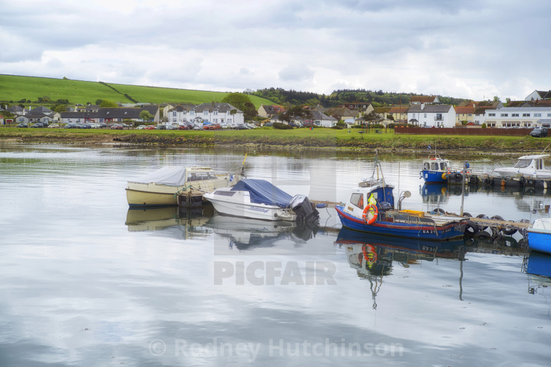 """Maidens Harbour"" stock image"
