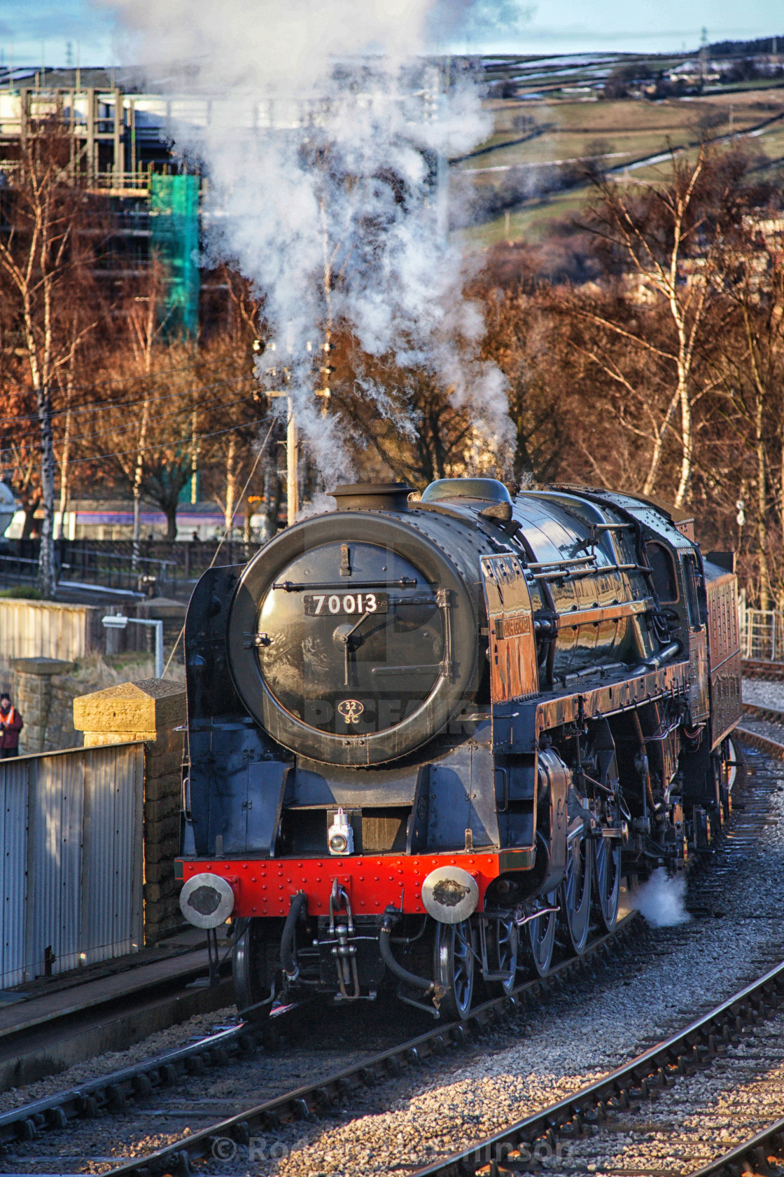 """Oliver Cromwell 70013"" stock image"