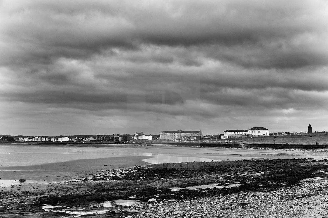 """Prestwick sea front"" stock image"