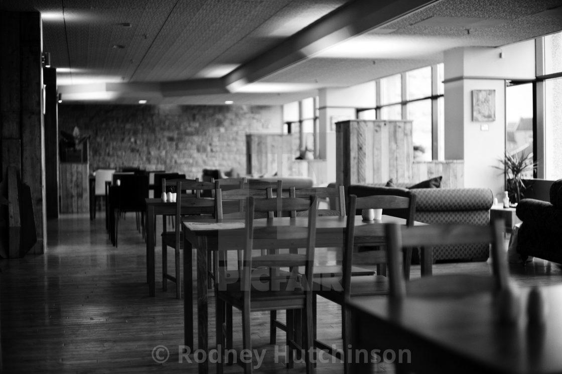 """Empty Restaurant in Ayr"" stock image"