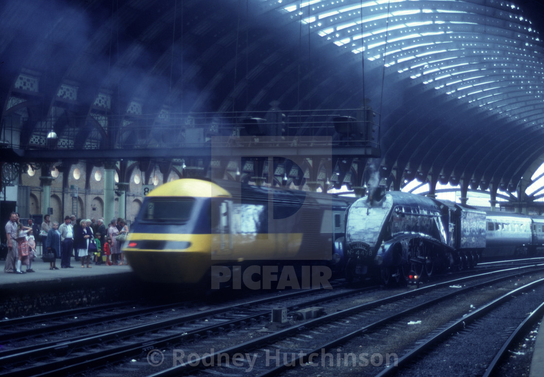 """""""A4 & HST"""" stock image"""