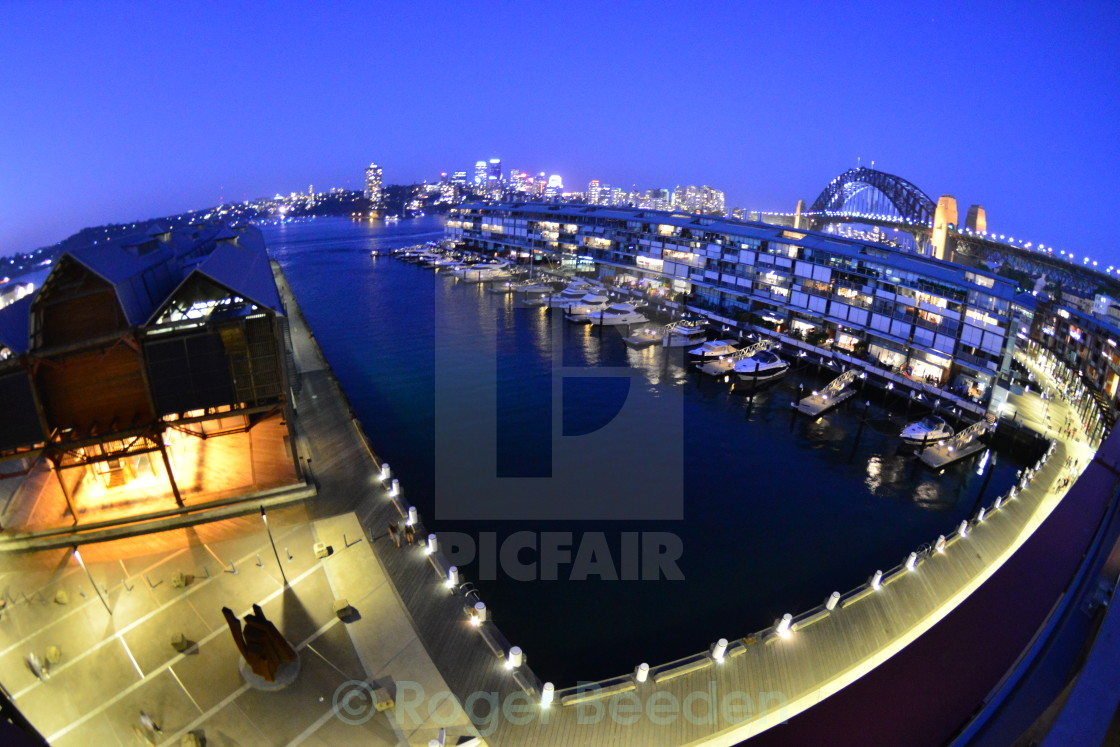 """Walsh's Bay, Sydney"" stock image"