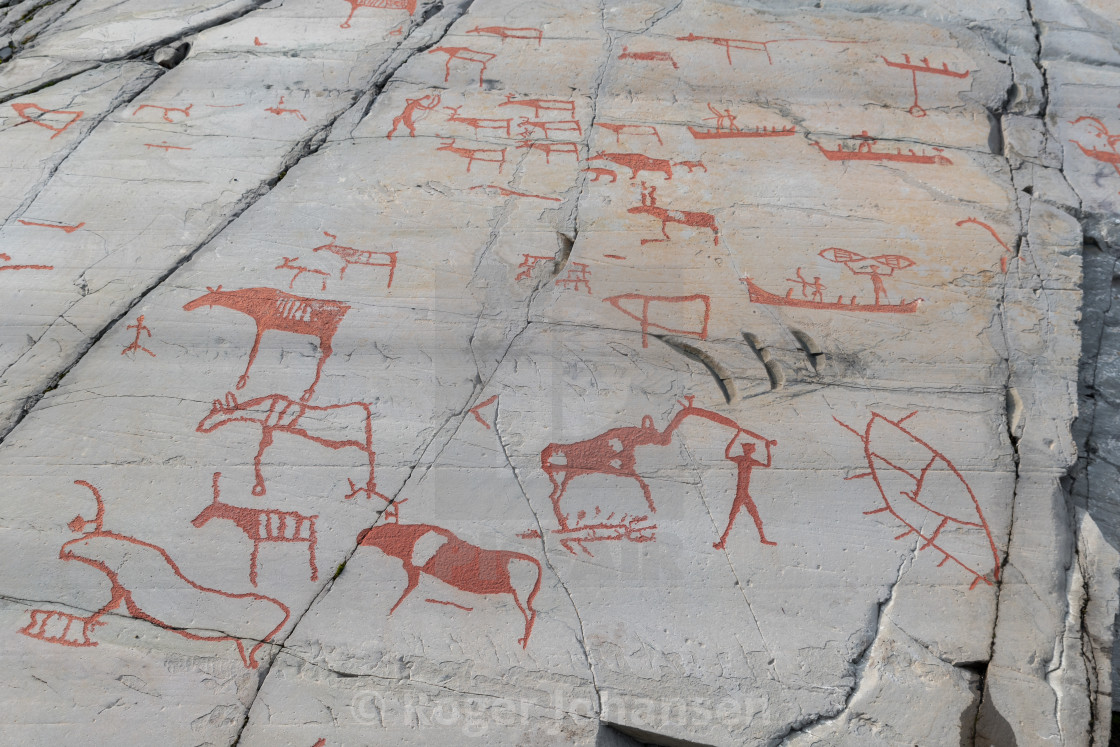 """Rock carvings"" stock image"