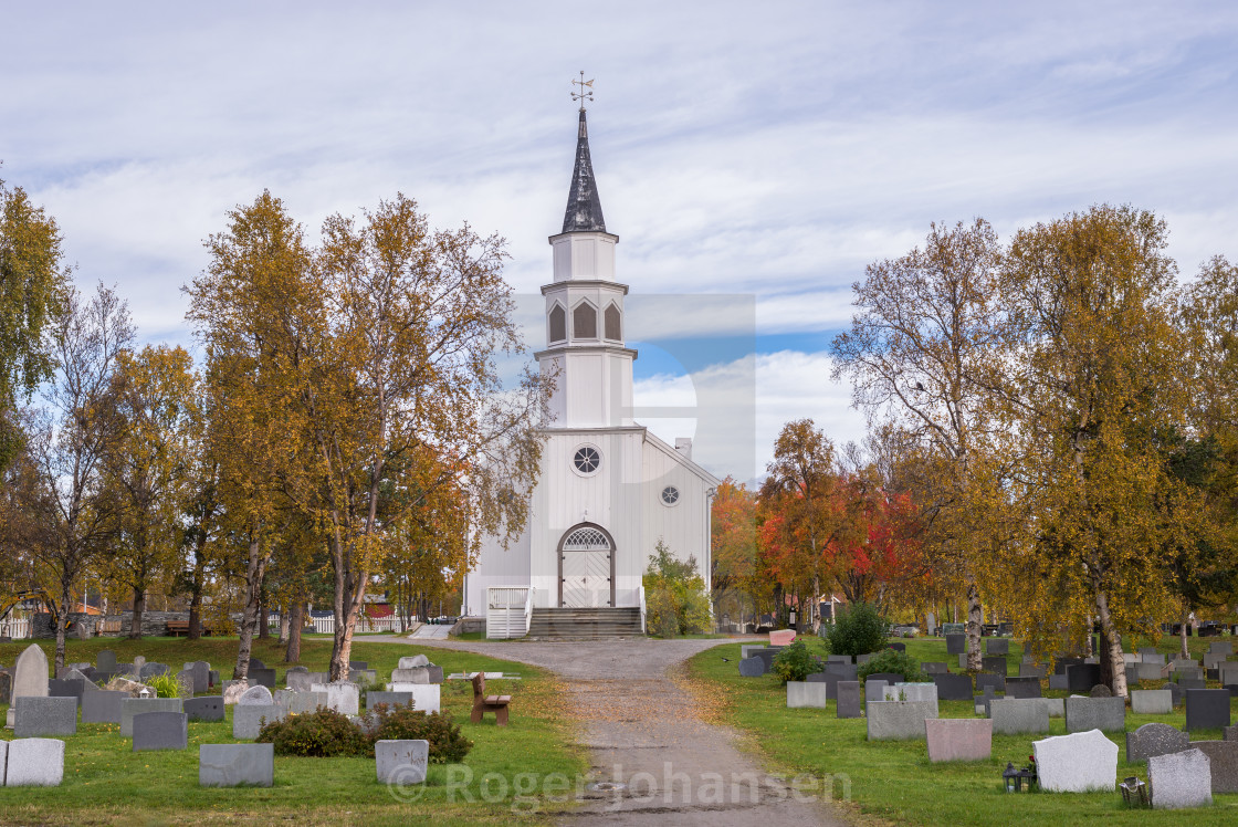 """Alta church"" stock image"